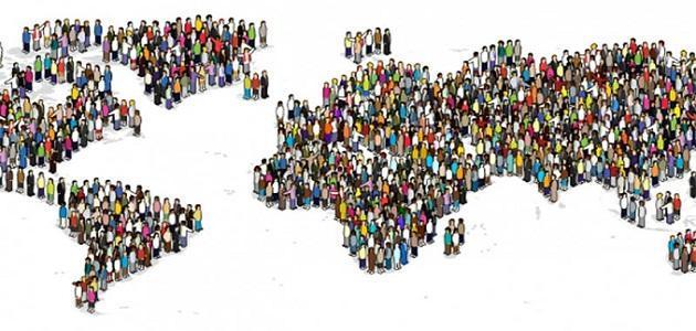 توزيع السكان وكثافتهم في قارة أوروبا