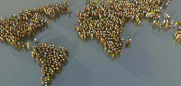 عدد السكان في قارة أوروبا